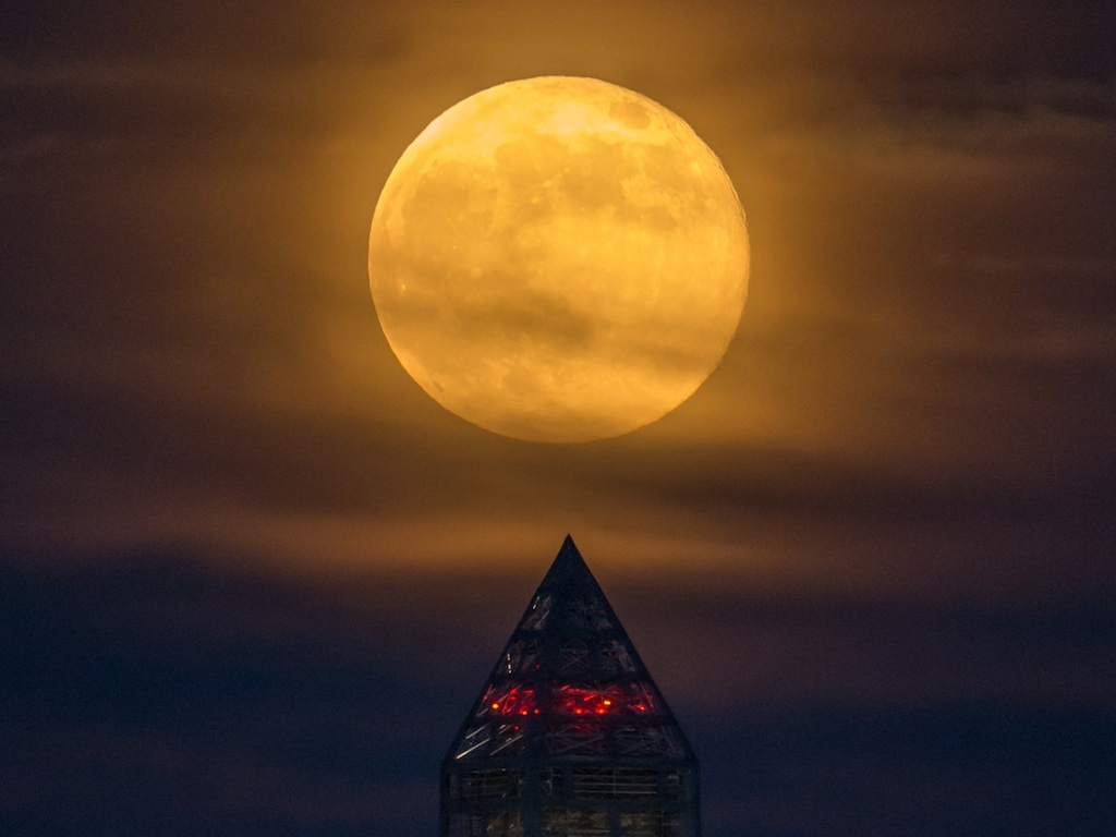 Supermoon Coming Our Way This Weekend! ©NASA