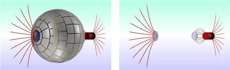 image of magnetic wormhole illustration
